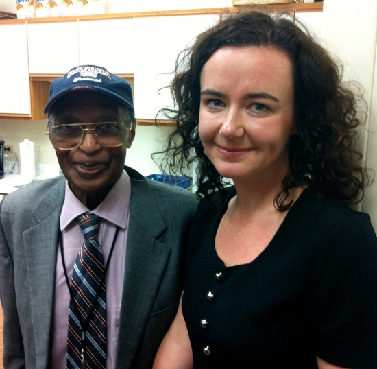 Shannon with Curtis Fuller
