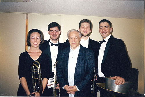 Civic Orchestra section