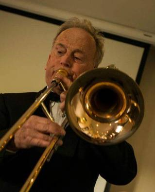 """Don Jordan from Melbourne: """"Denis Wick calls the trombone the King of Instruments and I agree with him. Infinitely flexible, it can sound soft and gentle or can roar with a majesty no other instrument can approach. I love being inside the sound I produce, when time stands still and nothing else matters."""""""