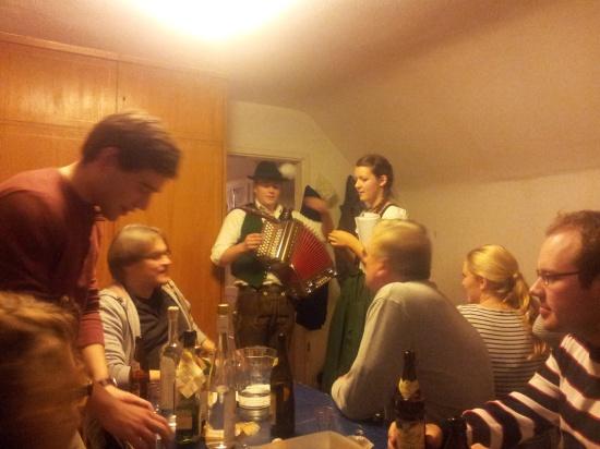 Bavarian Christmas party